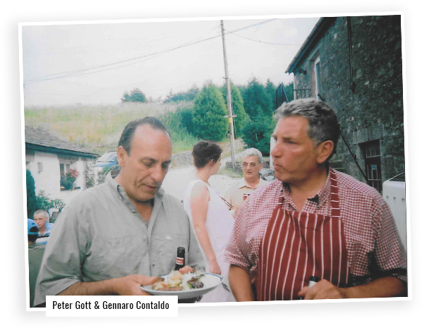Peter and Gennaro Contaldo