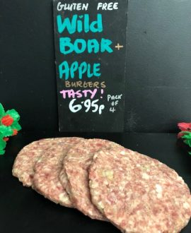 WB & Apple Burgers