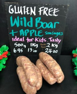 Wild Boar & Apple Sausage