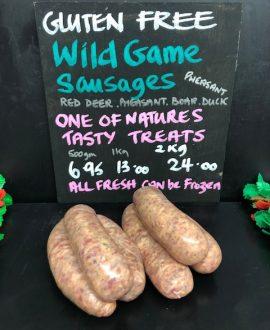 Wild Game Sausage