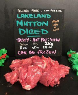 Diced Mutton
